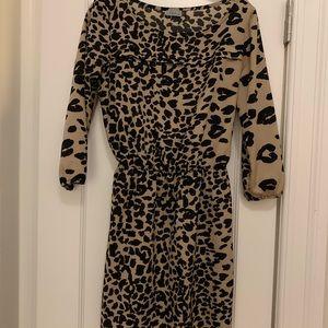 Abbeline size medium leopard print dress